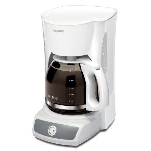 Black Mr. Coffee 12 Cup Coffee Maker, ()