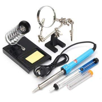 Amazon.com: Soldering Iron Kit Adjustable Temperature Welding Digital - 1PCs: Home Improvement