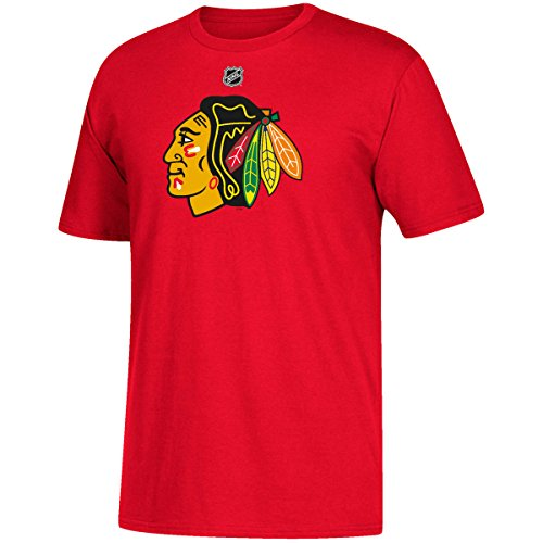 Nhl T-shirt - adidas Patrick Kane Chicago Blackhawks NHL Men's Red Player T-Shirt