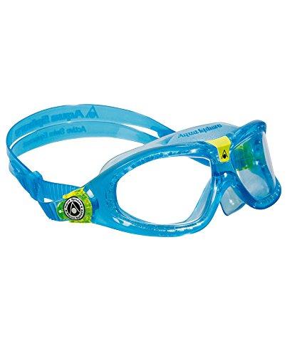 Protection Mask Clear Lens - Aqua Sphere Seal Kid 2 Swim Goggle, Clear Lens / Aqua