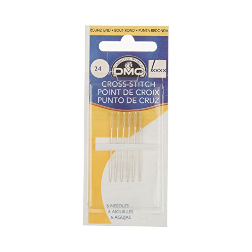 - DMC Size 24 Cross Stitch Needles