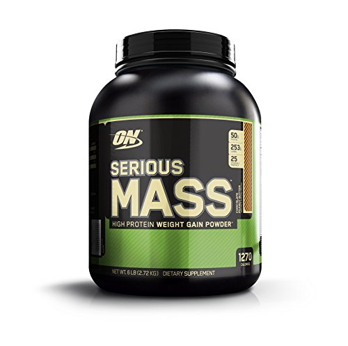 Optimum Nutrition Serious Mass Diet Supplement, Chocolate Peanut Butter, 6 Pound