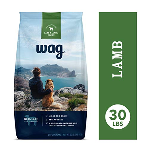 Amazon Brand - Wag Dry Dog Food Lamb & Lentil Recipe (30 lb. Bag) (Said The Little Lamb To The Shepherd Boy)