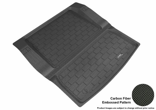 3D MAXpider Custom Fit All-Weather Cargo Liner for Select BMW 3 Series Sedan (F30) Models - Kagu Rubber (Black)