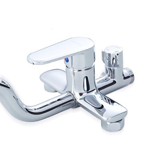 MOMO Dusche Set Kupfer Dusche Bad Warm und Kalt Wasserhahn Bad Große Dusche Set Kupfer Booster Dusche Wasserhahn by MOMO (Image #4)