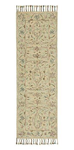 Stone & Beam Serene Tassled Wool Runner, 2'6