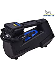 Michelin 4x4/SUV Digital Tyre Inflator 12 Volt Compressor (12V) with Bleed Valve, LCD Digital Display & 0 to 35 PSI in 2:45 Minutes (12310)