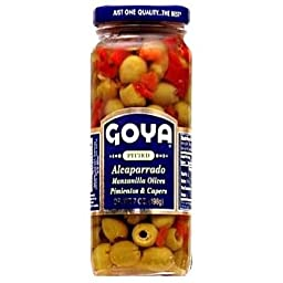 Goya Pitted Alcaparrado Caper 7 Ounce