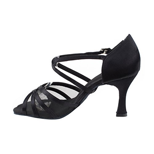 Art Wedding amp; Party Swing Heels Pumps Black I Theater Salsa 3