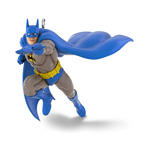 Hallmark Keepsake Mini Christmas Ornament 2018 Year Dated, DC Comics Justice League Batman Miniature, 1.1