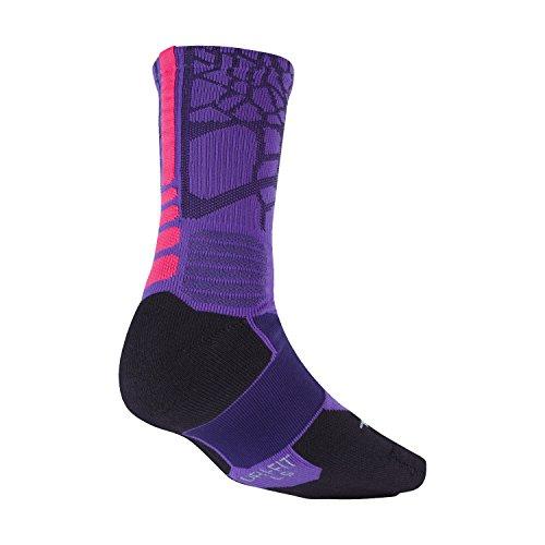 Nike Mens Hyper Elitvaddebesättnings Strumpor Lila (sx4885-576) / Rosa / Svart