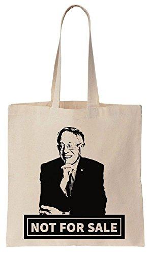 Bernie Sanders 2016 NOT FOR SALE` Sacchetto di cotone tela di canapa