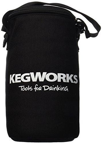 KegWorks Insulated Beer Growler Black product image