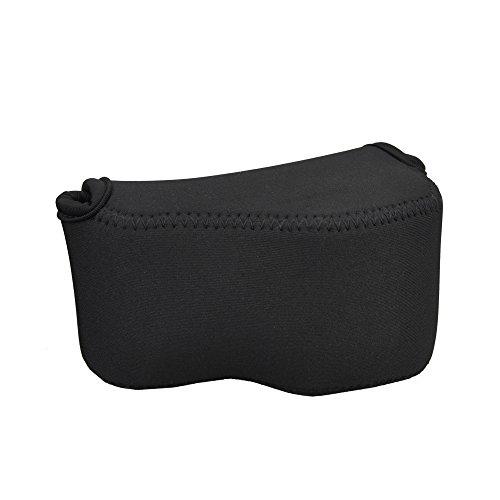 JJC Ultra-Light Neoprene Camera Case Pouch Bag for Sony Alph