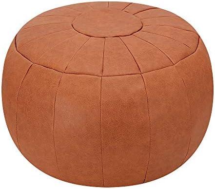 Super Rotot Decorative Pouf Ottoman Bean Bag Chair Foot Stool Foot Rest Storage Solution Or Wedding Gifts Unstuffed Tan Beatyapartments Chair Design Images Beatyapartmentscom