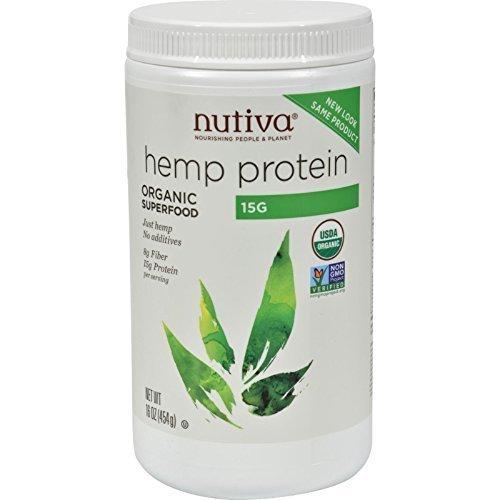 Nutiva Hemp Protein 15g Org