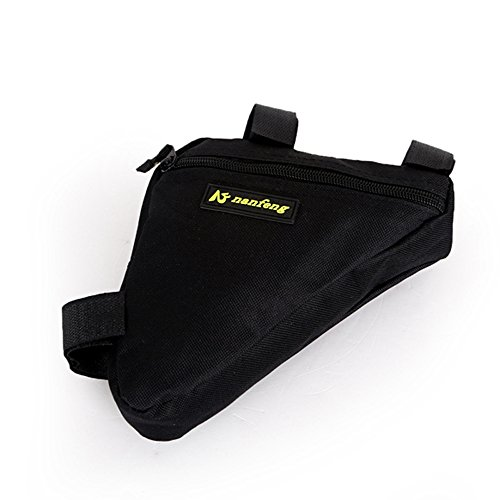 Juemenzhe Sport Bicycle Bike Storage Bag Triangle Saddle Frame Strap-On Pouch for Cycling by Juemenzhe (Image #6)