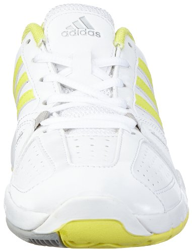 adidas Performance Bercuda 2.0 W - Zapatillas De Tenis de material sintético mujer Weiß (RUNNING WHITE FTW / RUN YELLOW-SMC / RUN YELLOW-SMC)