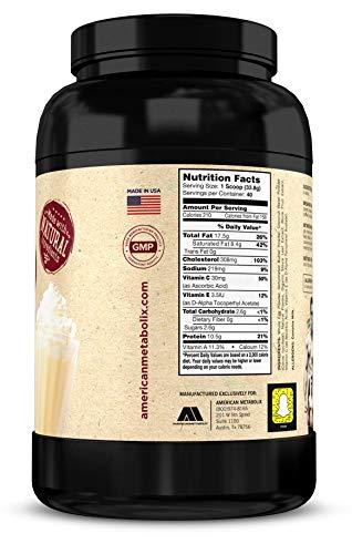 American Metabolix Keto Meal Vanilla Cake, 48 Ounce