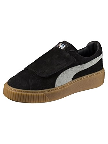 Grigio Marrone Platform 36 03 Nero Puma Sneakers Nero Wn's Strap 365224 AqXwBYxwZ