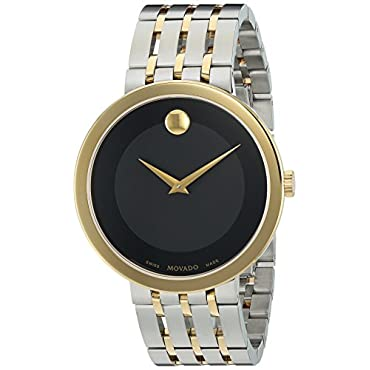 Movado 0607058 Swiss Quartz and Stainless Steel Two Tone Men's Watch