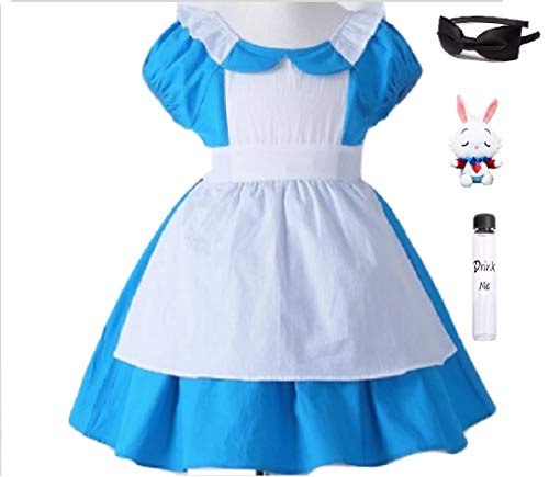 Wondering Alice Costume Dress w/Smocked Back from Chunks of Charm (5)]()