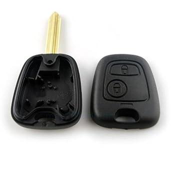 Carcasa de llave con telemando para Peugeot Expert Partner, incluye espadín virgen.