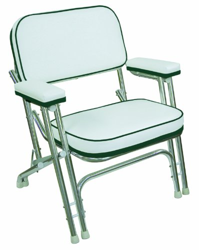 Wise Folding Deck Chair with Aluminum Frame, ()