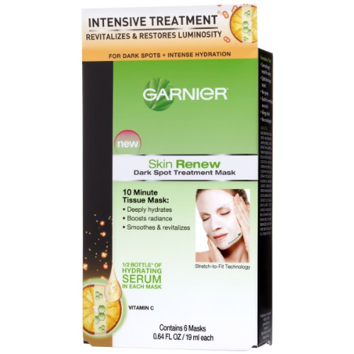 - Garnier Dark Spot Treatment Mask For Dark Spots Plus Intense Hydration, 0.64 Fluid Ounce