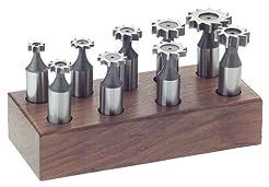 Steelex M1082 Woodruff Keyseat Set, 9-Pi...