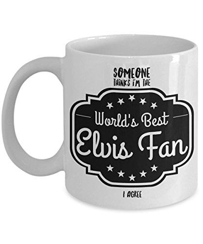 World's Best Elvis Presley Gifts - Great Gift for Elvis Coffee Mug - Show Your Favorite Elvis Fan Some (Elvis Presley Coffee)