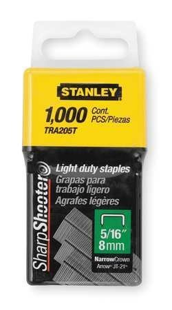 Stanley TRA205T 1,000 Units 5/16-Inch Light Duty Staples (2 pack) by Stanley