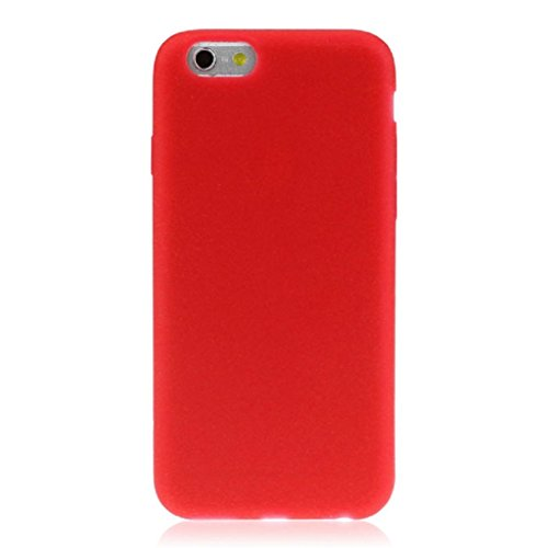 Price comparison product image iPhone 6S Plus Case, [5.5 inch]Towallmark Macaron Indie Pop Fresh Color Waterproof Soft Rubber Silicone Skin Case Full Cover