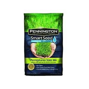 Pennington 100086574 Smart Seed Pennsylvania State Grass Seed Mix, 7-Pound