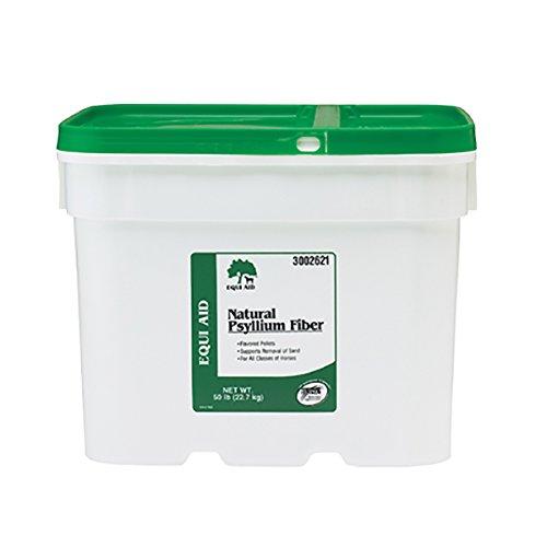 Farnam Equi Aid Natural Psyllium Fiber Pellets, 50 lbs by Farnam