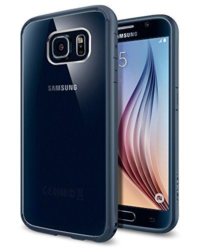 Spigen Ultra Hybrid Designed for Samsung Galaxy S6 Case (2015) - Metal Slate