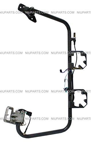 Bracket-Arm-Passenger-Side-for-Freightliner-Columbia-Door-Mirror-Power-Heated-Black
