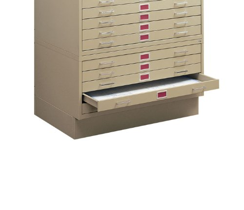 C-Files: Flush Base Color: White, File Cabinet Size: For 36