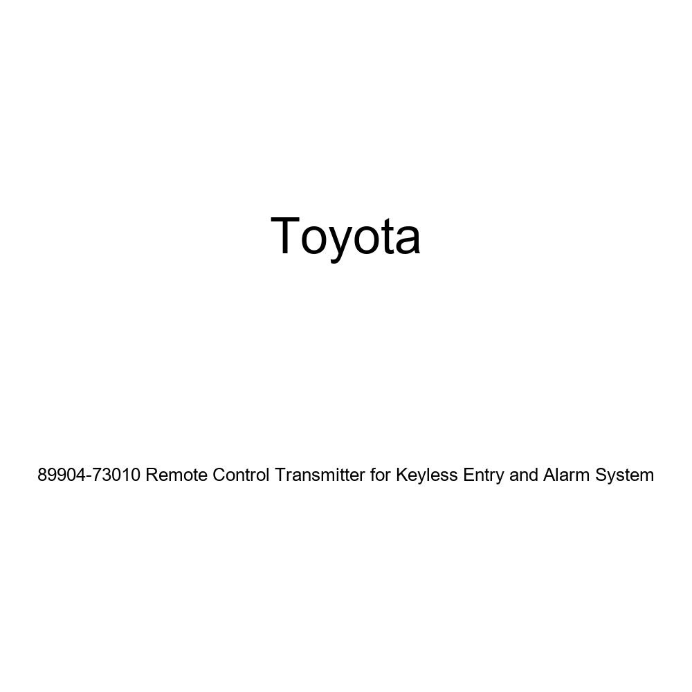Toyota 89904-73010 Remote Control Transmitter for Keyless Entry and Alarm System