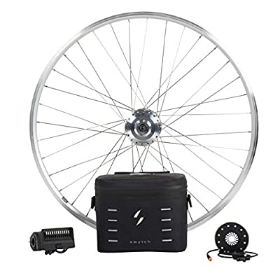 Swytch eBike Conversion Kit | 25 Mile Range 250W e-Bike Kit | Converts 99% of Bikes into a State-of-The Art Electric Bike (28.00)