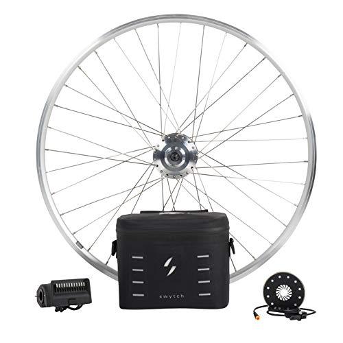 "Swytch eBike Conversion Kit | 50 Mile Range 250W e-Bike Kit | Converts 99% of Bikes into a State-of-The Art Electric Bike | 28"" Wheel Size"