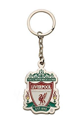 Liverpool FC Crest Keyring Keychain