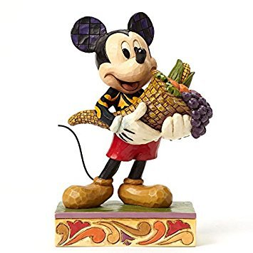 (Enesco Disney Tradition Autumn Mickey Mouse Figurine)