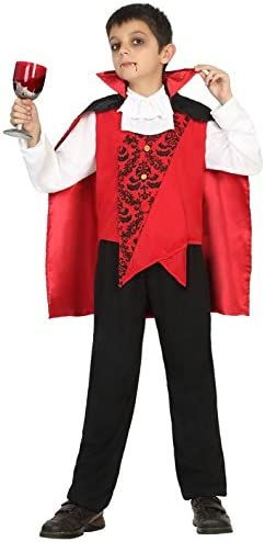 Atosa 18173 Disfraz vampiro 3-4 años, talla niño: Amazon.es ...
