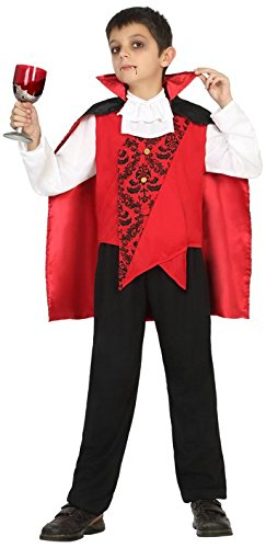 Atosa-18175 Disfraz Vampiro, Color Rojo, 7 a 9 años (18175 ...