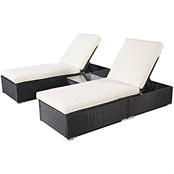 outdoor chaise lounge lowes wicker furniture pool chair table black cushions canada float