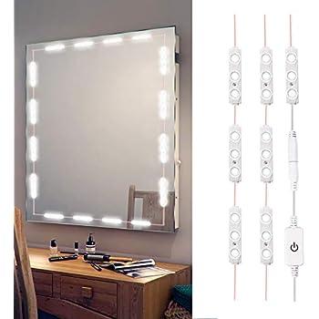 led vanity mirror lights kit make up mirror light strip for vanity dressing table. Black Bedroom Furniture Sets. Home Design Ideas