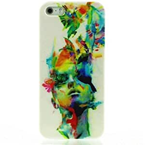 LZX Abstract Artist Pattern Hard Case for iPhone 5/5S