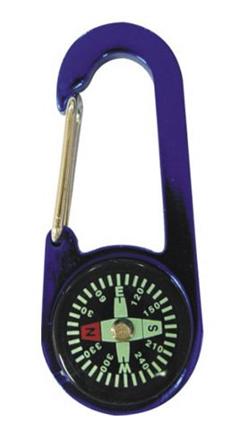 UPC 706569053326, Compass and Thermometer Carabiner Camping Emergency Gear Survival