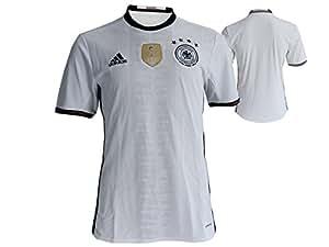 adidas Camiseta UEFA Euro 2016DFB Réplica, Color Negro/Blanco, tamaño Small